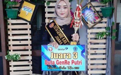 Mahasiswi STIKes Brebes Juara 3 Duta Genre 2020